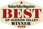 Hudson Valley Magazine's Best of the Hudson Valley Winner 2012